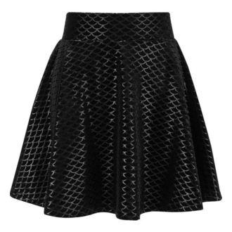 Women's skirt KILLSTAR - Black Sea - BLACK