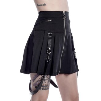 Skirt women's KILLSTAR - Blaire Bitch - Black, KILLSTAR