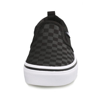 low sneakers children's - YT ASHER (Checker)Blk/Bl - VANS, VANS