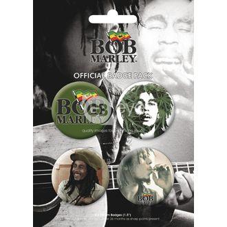 badges - BOB MARLEY - BP0056, GB posters, Bob Marley