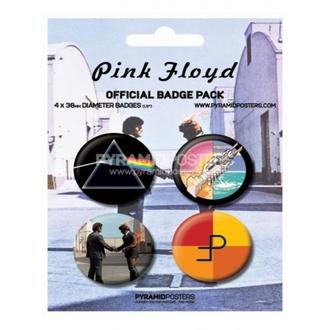badges - Pink Floyd - BP80091, PYRAMID POSTERS, Pink Floyd