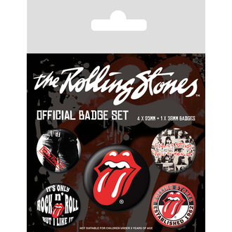 Pin badges Rolling Stones - (&&string0&&) - PYRAMID POSTERS - BP80465