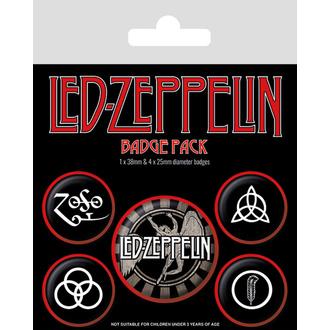Badges LED ZEPPELIN - BP80660