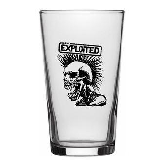 glass EXPLOITED - SKULL - RAZAMATAZ, RAZAMATAZ, Exploited