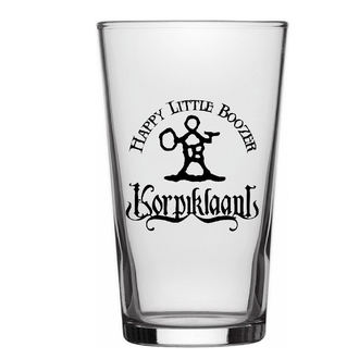 glass KORPIKLAANI - HAPPY LITTLE BOOZER - RAZAMATAZ - BG014