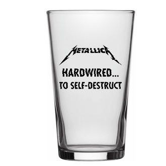 glass METALLICA - HARDWIRED TO SELF DESTRUCT - RAZAMATAZ, RAZAMATAZ, Metallica