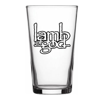 glass LAMB OF GOD - LOGO - RAZAMATAZ, RAZAMATAZ, Lamb of God