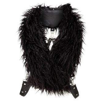 Scarf KILLSTAR - CALYPSO FUR - BLACK, KILLSTAR
