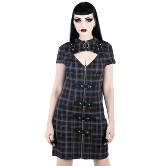 Women's dress KILLSTAR - Casey - TARTAN, KILLSTAR