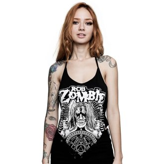 Women's tank top KILLSTAR - Rob Zombie - Channel X Rocker - BLACK, KILLSTAR, Rob Zombie