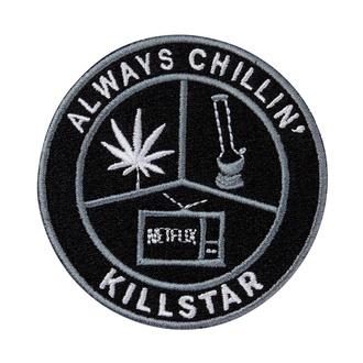Iron-on patch (patch) KILLSTAR - Chill - BLACK - K-PTH-U-2971
