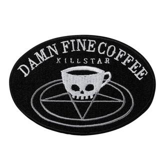 Iron-on patch (patch) KILLSTAR - Coffee - BLACK - K-PTH-U-2972