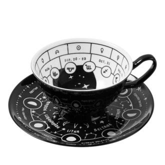 Tea cup with saucer (set) KILLSTAR - Cosmic - KSRA001013