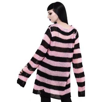Women's sweater KILLSTAR - Courtney Distress - BLACK, KILLSTAR