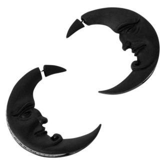 Earrings KILLSTAR - Crescent moon - BLACK, KILLSTAR