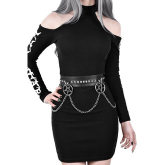 Belt KILLSTAR - CURSES - BLACK, KILLSTAR