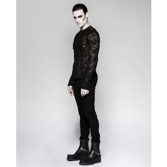 Men's sweater (long sleeve tee) PUNK RAVE - Faust - T-474 BK
