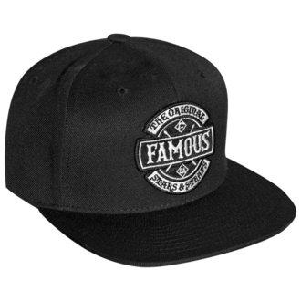 Cap FAMOUS STARS & STRAPS - CHAOS - BLACK, FAMOUS STARS & STRAPS
