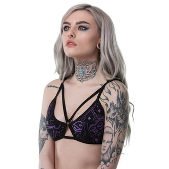 Women's Bra KILLSTAR - DARK ARTS - BLACK, KILLSTAR