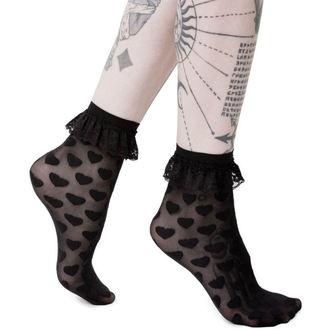 Socks KILLSTAR - DARK HEARTS - BLACK - KSRA000134