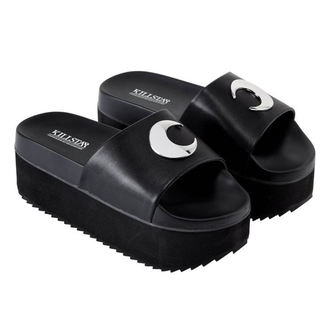 flip-flops women's - DARK MOON SLIDES - KILLSTAR, KILLSTAR