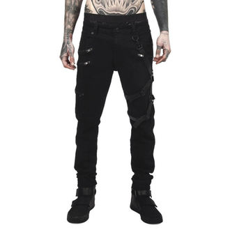 Pants Men's KILLSTAR - DEATH WISH - BLACK, KILLSTAR