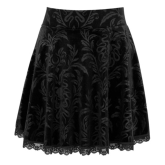 Women's skirt KILLSTAR - Depths Skater - BLACK - KSRA001759