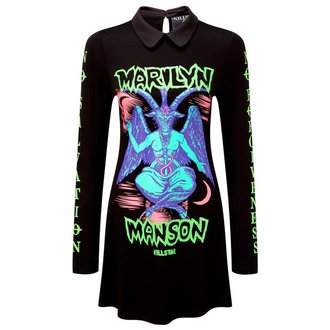 dress women KILLSTAR - MARILYN MANSON - Devil On Tour - Black - K-DRS-F-2501