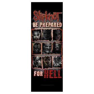 Flag Slipknot - Be Prepared for Hell, HEART ROCK, Slipknot