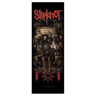 Flag Slipknot - Crest, HEART ROCK, Slipknot