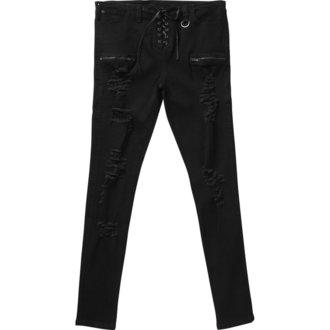 Trousers (unisex) KILLSTAR - Diablo Jeans - BLACK