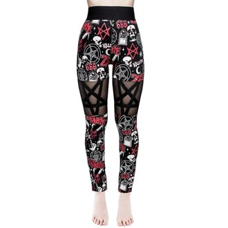 Women's pants (leggings) KILLSTAR - ROB ZOMBIE - Sweetheart - BLACK, KILLSTAR, Rob Zombie