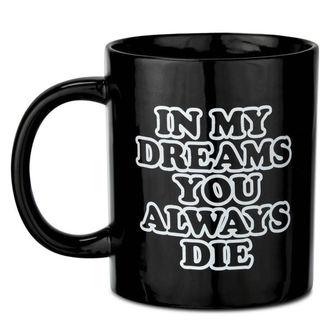 Mug KILLSTAR - DREAMS - BLACK, KILLSTAR