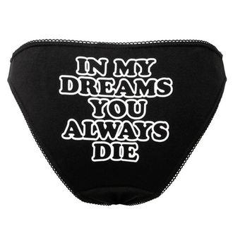Panties Women's KILLSTAR - DREAMS - BLACK, KILLSTAR