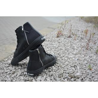 high sneakers unisex - NEVER KNEEL - DISTURBIA