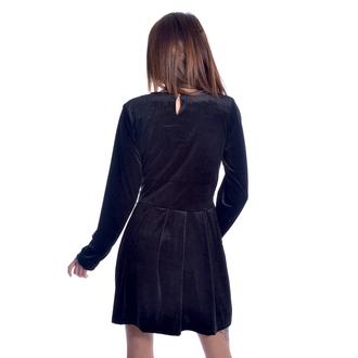 Women's dress HEARTLESS - GOTHIC WEDNESDAY - BLACK, HEARTLESS