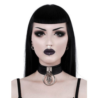 Collar KILLSTAR - Elena Skull - BLACK, KILLSTAR