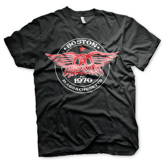 t-shirt metal men's Aerosmith - Est. 1970, Boston - HYBRIS, HYBRIS, Aerosmith