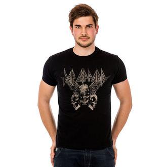 t-shirt metal men's Def Leppard - Flying Skulls - HYBRIS, HYBRIS, Def Leppard
