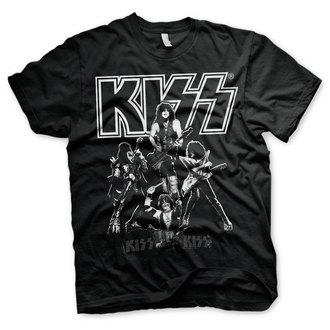 t-shirt metal men's Kiss - Hottest Show On Earth - HYBRIS