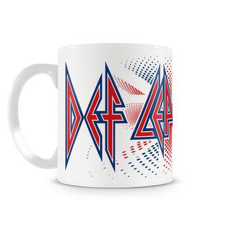 Mug Def Leppard - UK Flag - HYBRIS, HYBRIS, Def Leppard
