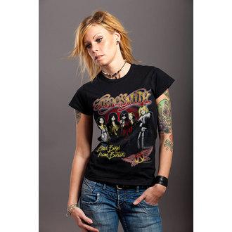 t-shirt metal women's Aerosmith - Band - HYBRIS, HYBRIS, Aerosmith