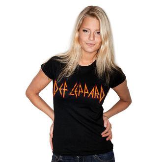 t-shirt metal women's Def Leppard - Distressed - HYBRIS, HYBRIS, Def Leppard