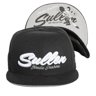 cap SULLEN - NEEDLE PUSHER - BLACK, SULLEN