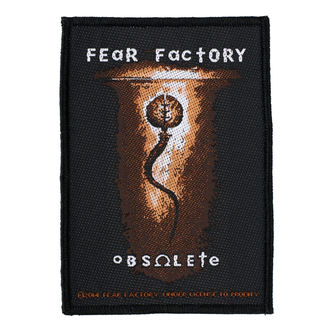 patch FEAR FACTORY - OBSOLETE - RAZAMATAZ, RAZAMATAZ, Fear Factory