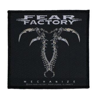 patch FEAR FACTORY - MECHANIZE - RAZAMATAZ, RAZAMATAZ, Fear Factory