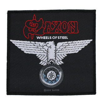 patch SAXON - WHEELS OF STEEL - RAZAMATAZ - SP2787