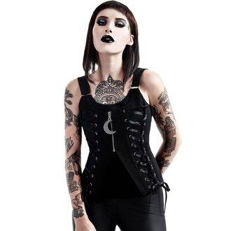 Top Women's KILLSTAR - Farah Fatale - Black, KILLSTAR