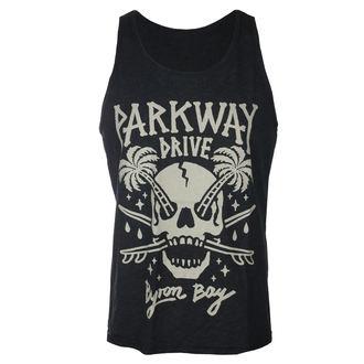 Men's tank top Parkway Drive - Skull Palms - Charcoal - KINGS ROAD, KINGS ROAD, Parkway Drive