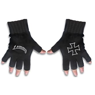 Fingerless Gloves Motörhead - LEMMY - LOGO & IRON CROSS - RAZAMATAZ, RAZAMATAZ, Motörhead